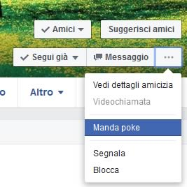 Come mandare un poke su facebook