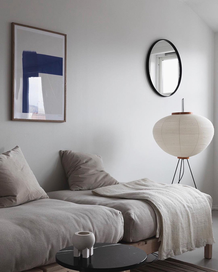 Scandinavian living room via heembergen