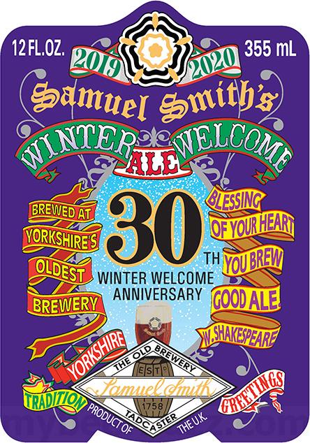 Samuel Smith 30th Winter Welcome Anniversary