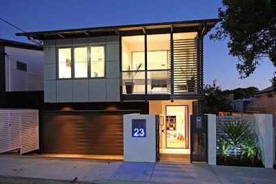 desain rumah minimalis 2 garasi