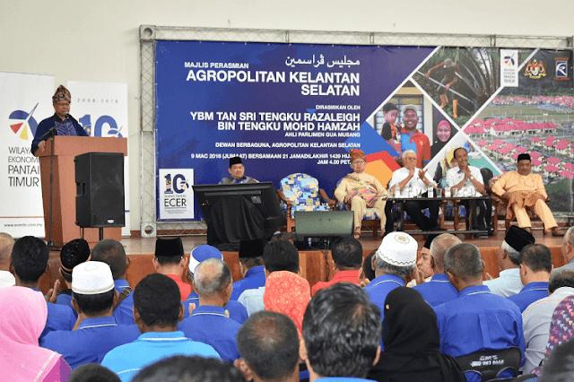 ECERDC, Agropolitan Kelantan Selatan,