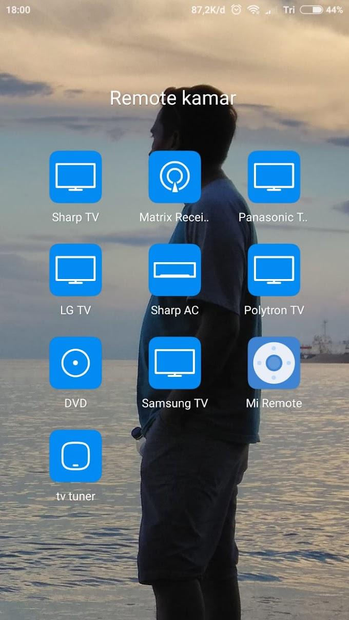 cara Setting Mi remote ke TV Tuner