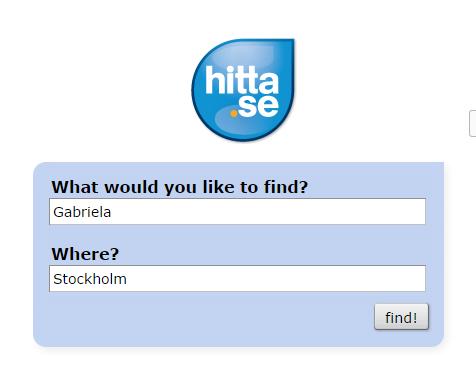 Szwedzki brak prywatności