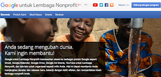 Google AdGrants untuk Organisasi Non Profit Indonesia
