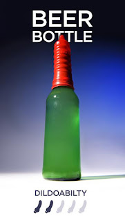 usar botellas como dildo vibrador