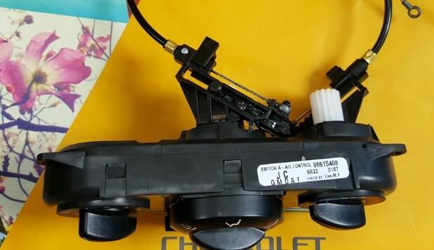 Công tắc điều khiển điều hòa xe Lacetti EX chính hãng GM