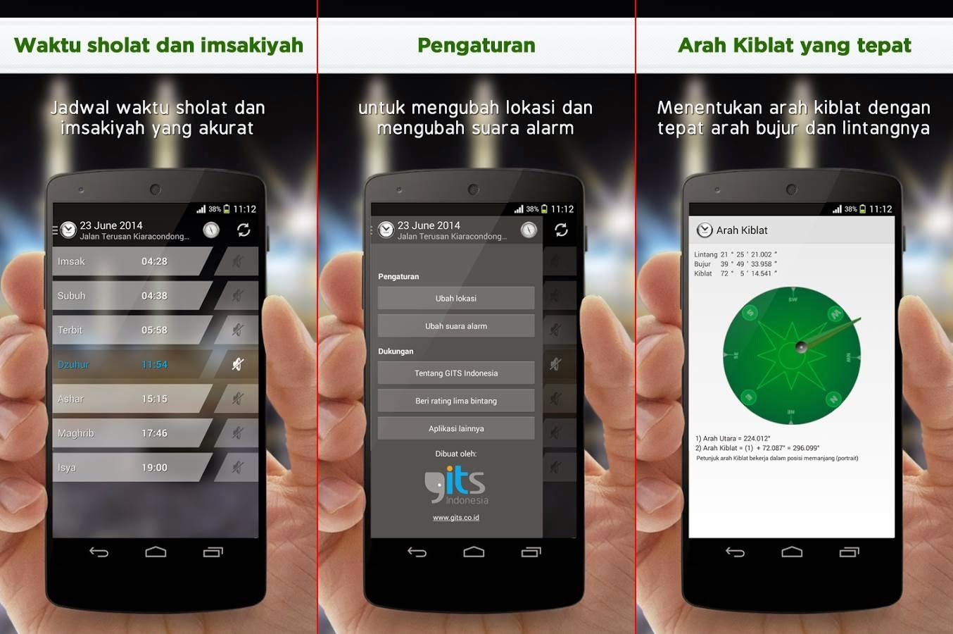 Aplikasi Jadwal Imsakiyah Bulan Ramadhan 2014
