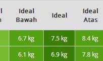 Tinggi dan Berat Badan Ideal Bayi Perempuan dan Laki Usia 5 Bulan