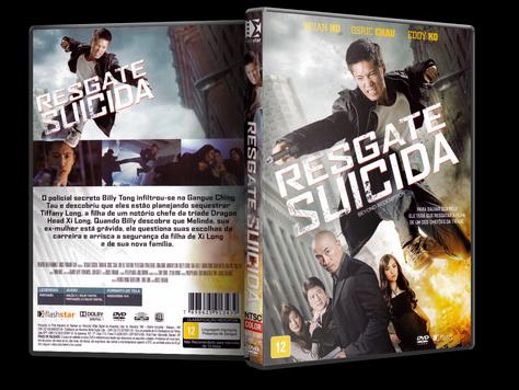 Capa DVD Resgate Suicida (Oficial)