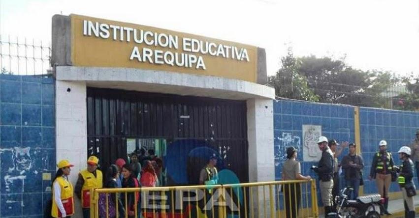 Policía detiene a maestro por pedir S/. 40 a escolar para aprobar curso