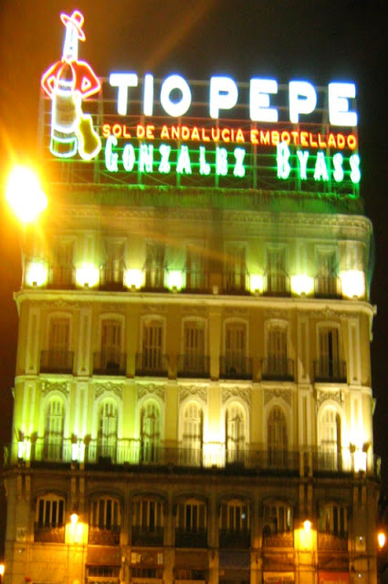 MADRID PUERTA DEL SOL NIGHT