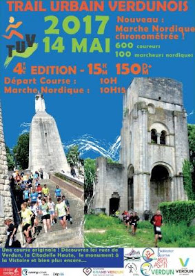 Trail Urbain Verdunois le 14 Mai 2017