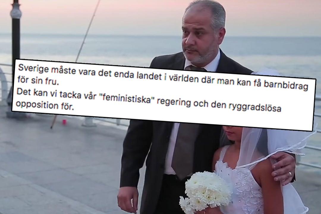 Muslimske menn som lever med barne-hustruer i Sverige 18b646f808393