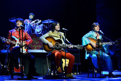 You'll be encouraged to clap your hands, stomp your feet, and go as mad as you like during this fun Fab Four tribute.