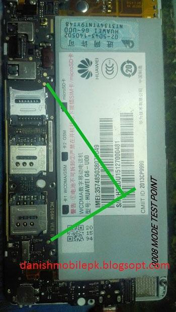 HUAWEI G6U10 Dead Boot Repair Firmware with usb - DANISH MOBILE