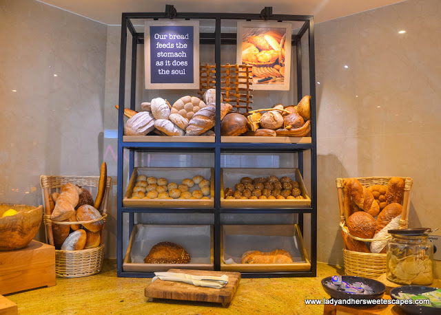 Bread Station at Olive Oil brunch