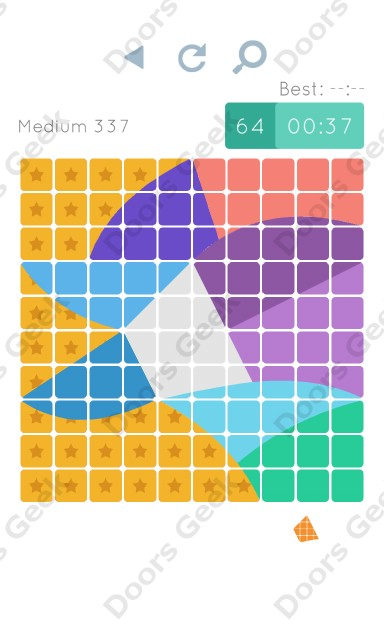 Cheats, Walkthrough for Blocks and Shapes Medium Level 337
