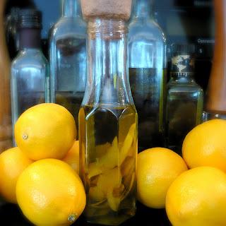 lemon and oilv oil