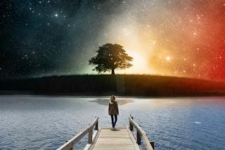 Mengedit Foto Efek Galaksi di Langit Dengan Picsart