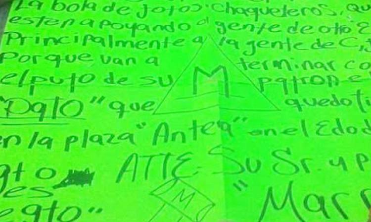 """""""El Marro"""" deja descuartizado en Guanajuato junto a mensaje, se adjudica ejecutados en Antea, Querétaro"""