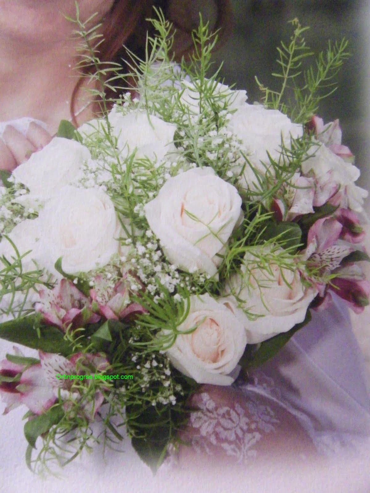 Orti in progress i fiori del mio bouquet da sposa for Progetta il mio mazzo