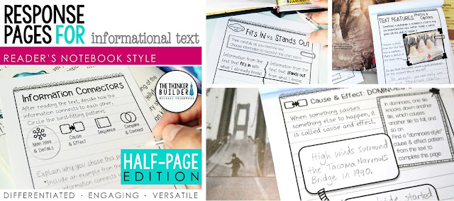 https://www.teacherspayteachers.com/Product/Readers-Notebook-Response-Pages-for-Informational-Text-HALF-PAGE-SET-1045191