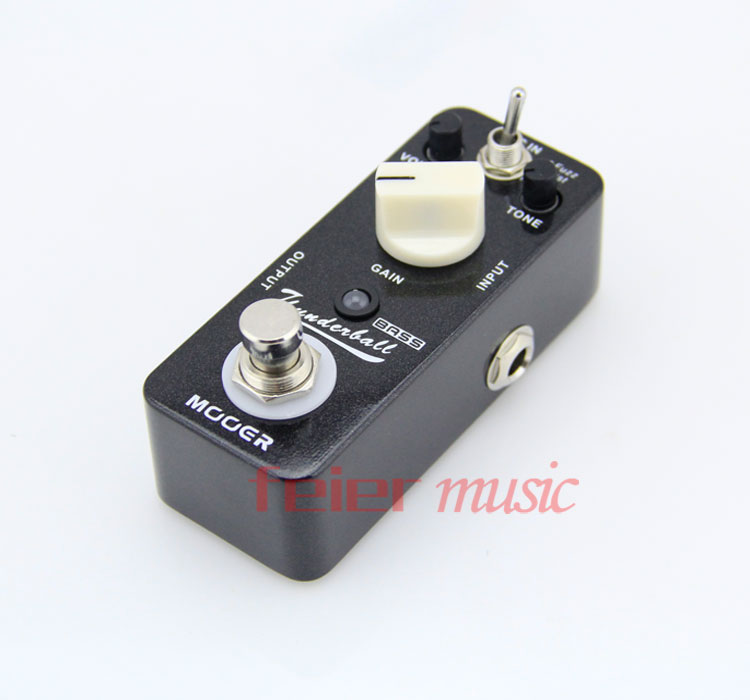 guitar pedals : Mooer Bass Effects Pedal ThunderBall Bass