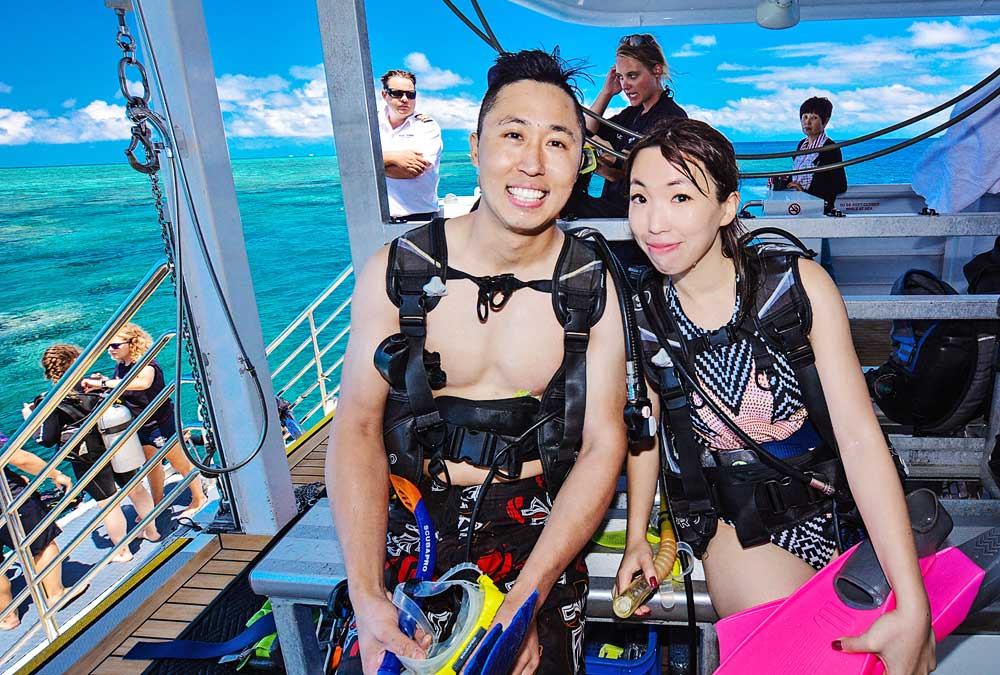 My First Scuba Diving Experience - 30 Feet Under the Great Barrier Reef