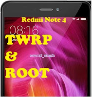 flash TWRP and Root Redmi Note 4