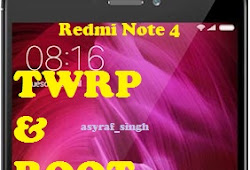 How to Install TWRP Recovery Xiaomi Redmi Note 4, Root, and