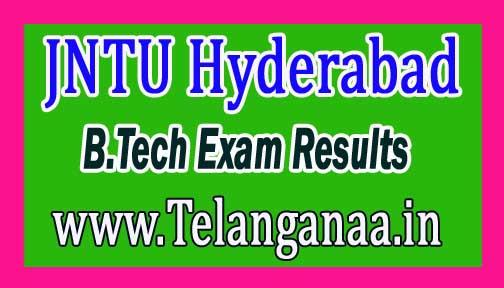 JNTU Hyderabad B.Tech (CCC) All Year Reg/Rev  2016 Exam Results