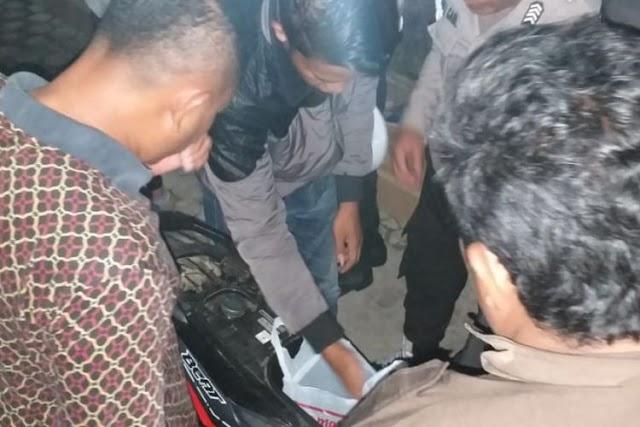 Simpan Janin Dalam Jok Motor, Sepasang Kekasih Ditangkap Polisi