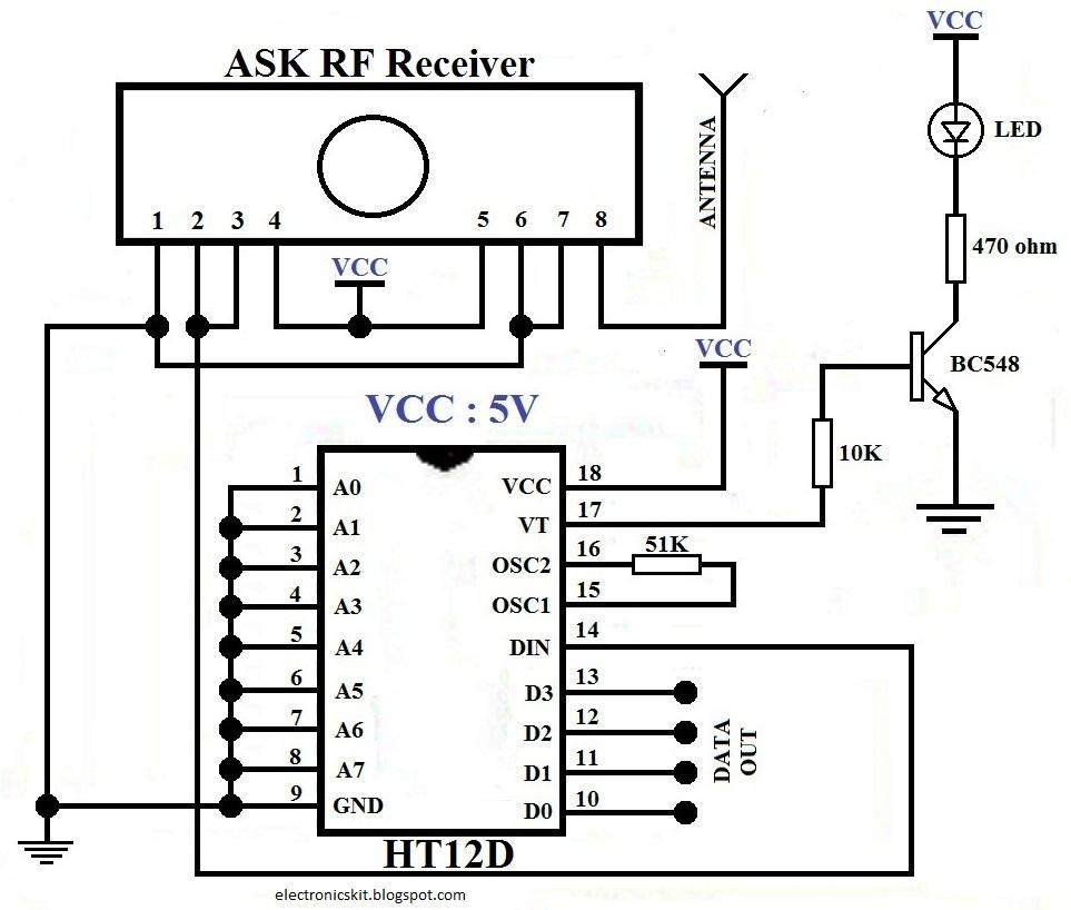 Electronics Idea Circuitlab 3 Inverter Oscillator 01 Receiver Section
