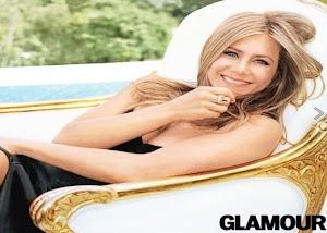 Jennifer Aniston linda, sexy e light na capa da Glamour