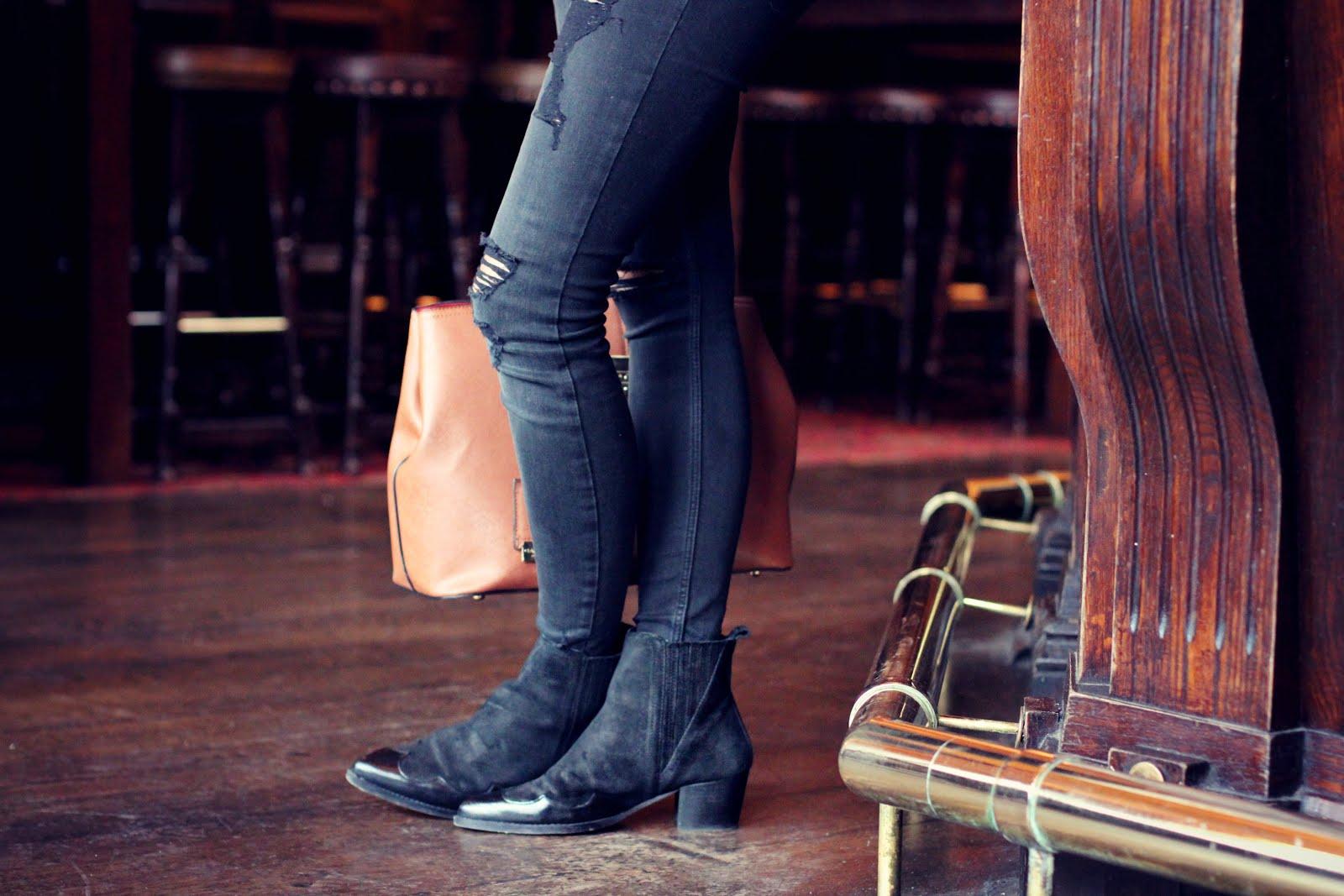 copper garden, minimal fashion blogger