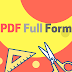 PDF Full Form (What is the Meaning of PDF?)