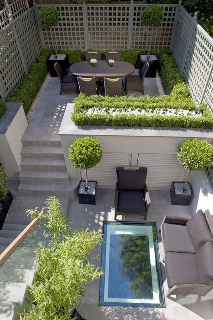 Victorian Townhouse Backyard Design | Joy Studio Design ... on Townhouse Patio Design Ideas id=15738