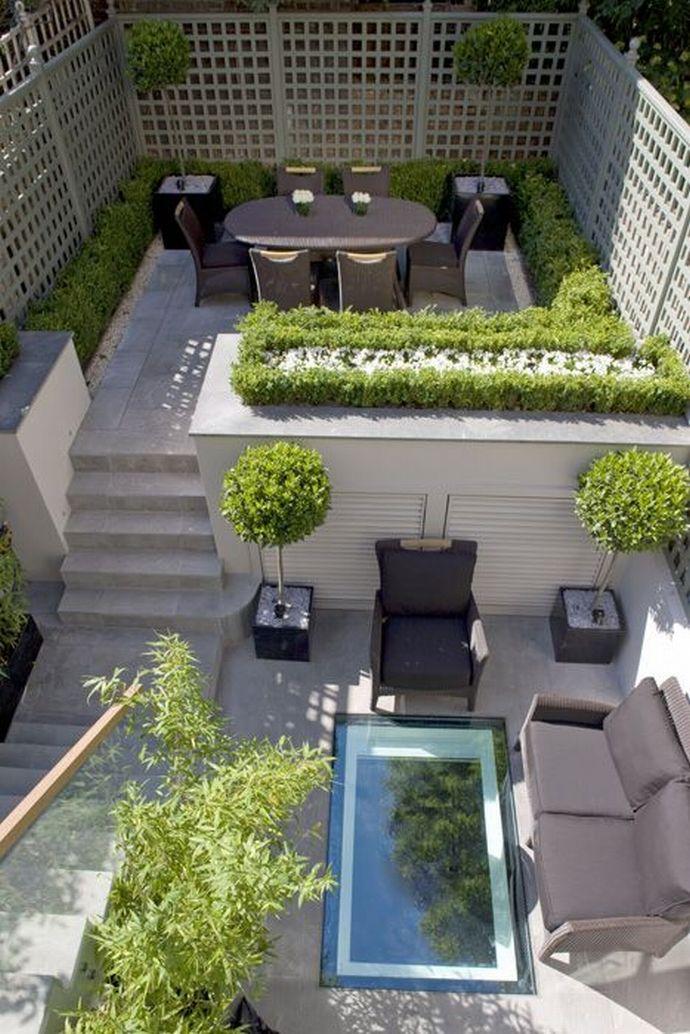 Victorian Townhouse Backyard Design | Joy Studio Design ... on Townhouse Patio Ideas  id=83101