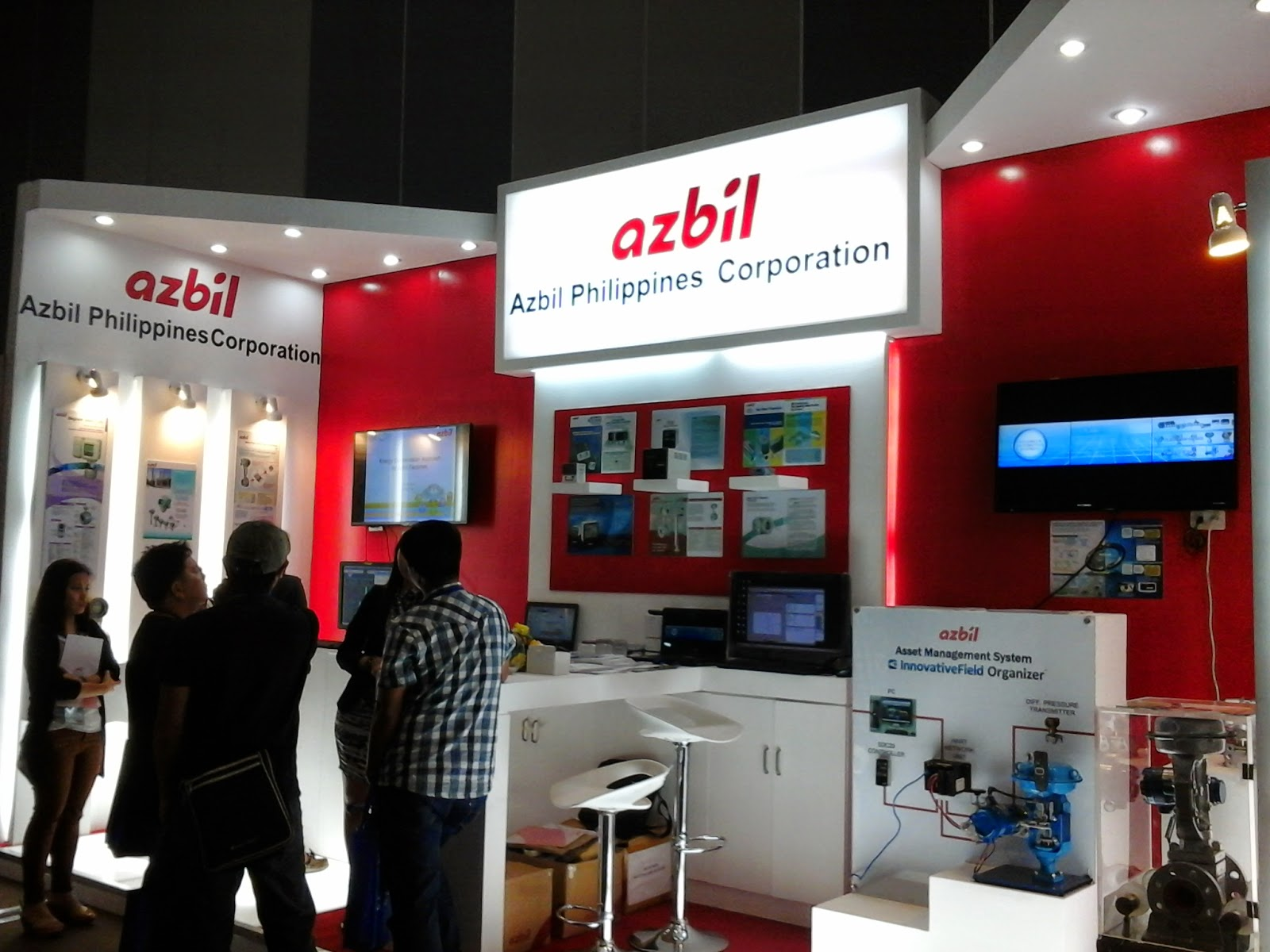 Azbil Philippines Corporation Exhibit Display