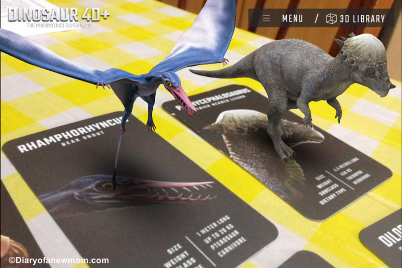 Dinosaurs 4D+ flashcards