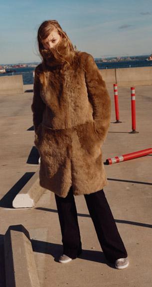 abrigo pelo mujer Zara colección Studio