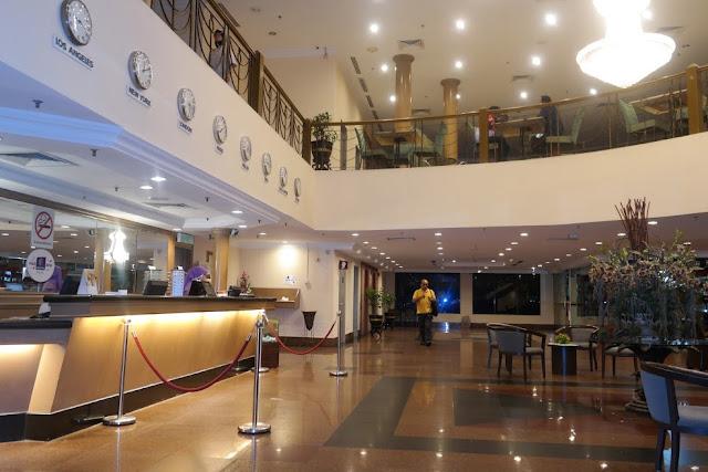 Kuala Lumpur International Hotel Lobby
