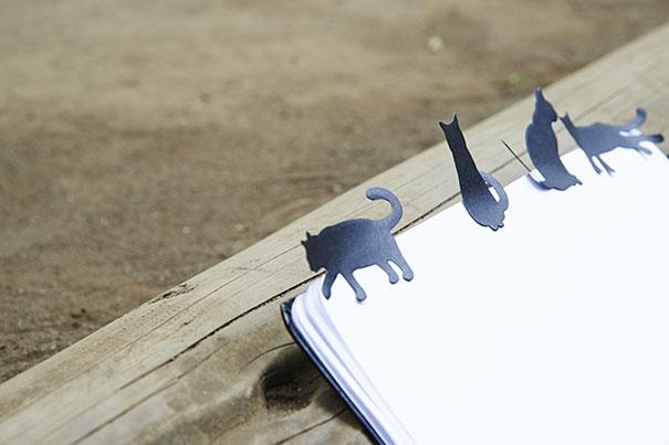 Sticky Notes Black Cat-1