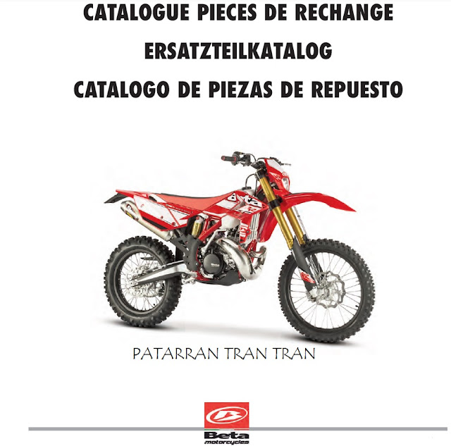Despiece Beta RR 300 Enduro 2016