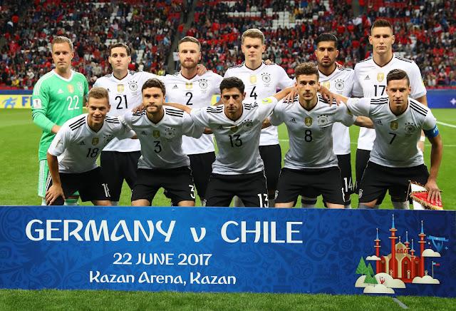 Formación de Alemania ante Chile, Copa Confederaciones 2017, 18 de junio