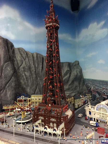 The Ninjas have taken over Blackpool Tower!