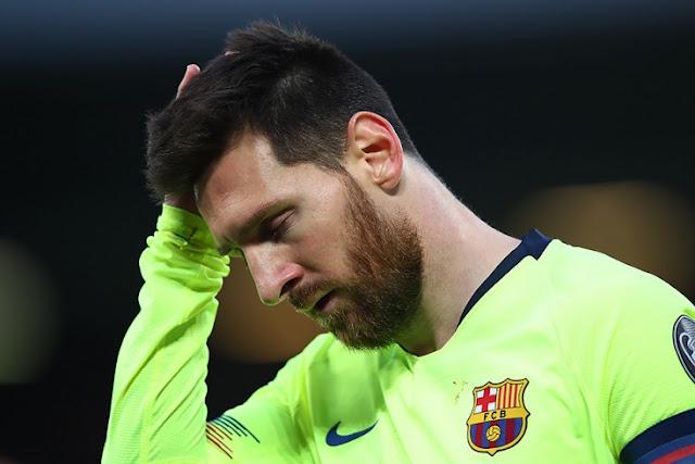 Месси покинул раздевалку спустя 2 часа после матча «Ливерпуль» — «Барселона»