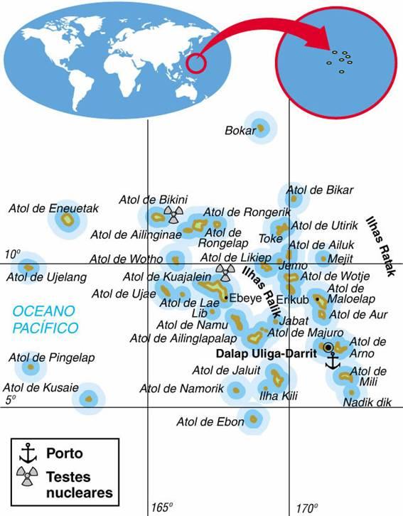 Ilhas Marshall | Aspectos Geográficos e Socioeconômicos das Ilhas Marshall
