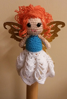 Free Crochet Patterns Christmas Tree Topper : Christmas Fairy Tree Topper Free Amigurumi Patterns ...