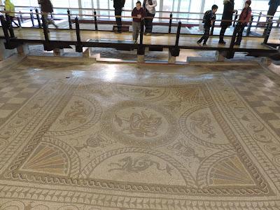 fishbourne roman palace west sussex